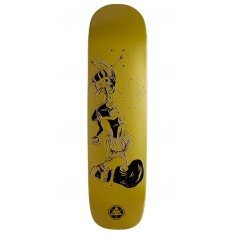 Welcome Effigy On Yung Nibiru Skateboard Deck - Gold - 8.25""