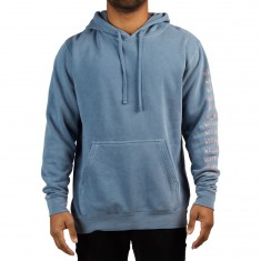Welcome Twenty Eyes Pigment Dyed Hoodie - Slate