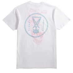 Welcome Symbol Overlay T-Shirt - White
