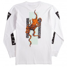 Welcome Bactocat Long Sleeve T-Shirt - White