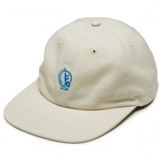 Old Friends Globe 6 Panel Hat - Off White