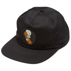 Old Friends Hugger 5 Panel Hat - Black
