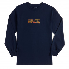Passport International Embroidery Long Sleeve T-Shirt - Navy