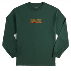 Passport International Embroidery Long Sleeve T-Shirt - Forest Green