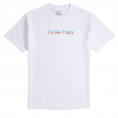 Passport Chrome T-Shirt - White