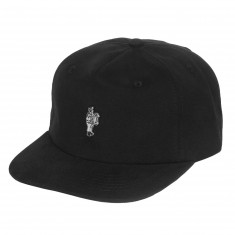 Passport Po Po Pin Hat - Black