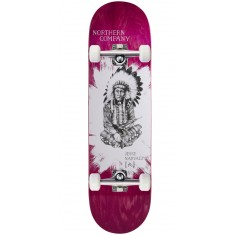 """Northern Co. Jesse Native Skateboard Complete - 8.50"""" - Pink Stain"""