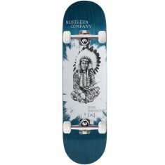 """Northern Co. Jesse Native Skateboard Complete - 8.50"""" - Teal Stain"""