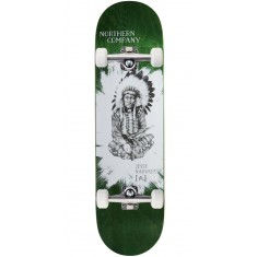 """Northern Co. Jesse Native Skateboard Complete - 8.50"""" - Green Stain"""