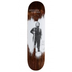 "Northern Co. Lent Woodsman Skateboard Deck - 8.00"" - Brown Stain"