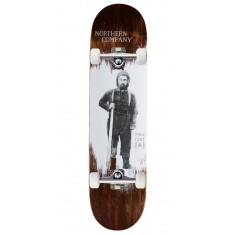"Northern Co. Lent Woodsman Skateboard Complete - 8.00"" - Brown Stain"