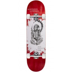 """Northern Co. Jesse Native Skateboard Complete - 8.25"""" - Red Stain"""