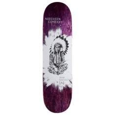 "Northern Co. Jesse Native Skateboard Deck - 8.25"" - Purple Stain"