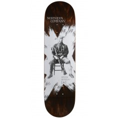 "Northern Co. Botelho Ranger Skateboard Deck - 8.50"" - Brown Stain"