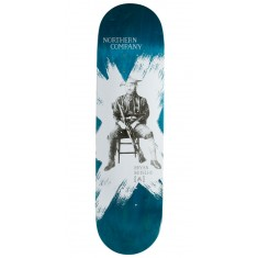 "Northern Co. Botelho Ranger Skateboard Deck - 8.50"" - Teal Stain"