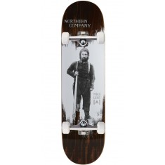 """Northern Co. Lent Woodsman Skateboard Complete - 8.25"""" - Brown Stain"""