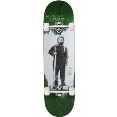 """Northern Co. Lent Woodsman Skateboard Complete - 8.25"""" - Green Stain"""