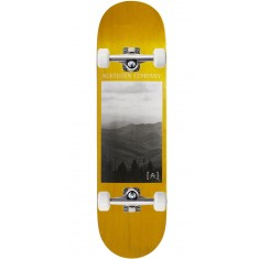 """Northern Co. Mountain Skateboard Complete - 8.38"""" - Yellow Stain"""