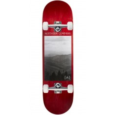 """Northern Co. Mountain Skateboard Complete - 8.38"""" - Red Stain"""