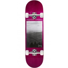 """Northern Co. Mountain Skateboard Complete - 8.38"""" - Pink Stain"""