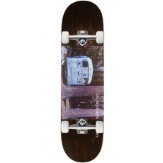 "Northern Co. Bus Skateboard Complete - 8.25"" - Brown Stain"