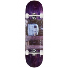 "Northern Co. Bus Skateboard Complete - 8.38"" - Purple Stain"
