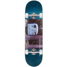 "Northern Co. Bus Skateboard Complete - 8.38"" - Teal Stain"
