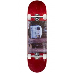 "Northern Co. Bus Skateboard Complete - 8.38"" - Red Stain"