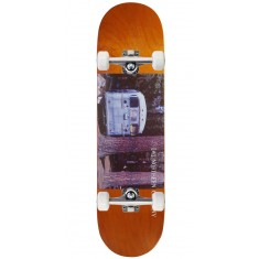 "Northern Co. Bus Skateboard Complete - 8.38"" - Orange Stain"