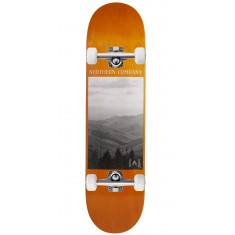 "Northern Co. Mountain Skateboard Complete - 8.00"" - Orange Stain"