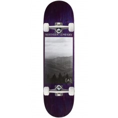 "Northern Co. Mountain Skateboard Complete - 8.25"" - Purple Stain"