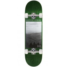 "Northern Co. Mountain Skateboard Complete - 8.25"" - Green Stain"