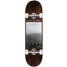"Northern Co. Mountain Skateboard Complete - 8.25"" - Brown Stain"