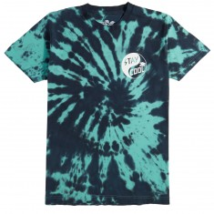 Happy Hour Stay Cool Ying Yang T-Shirt - Teal