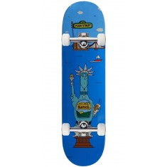 """Pizza Too Much Sauce Skateboard Complete - 8.25"""""""