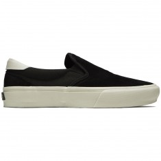 Straye Ventura Shoes - Black/Bone Suede