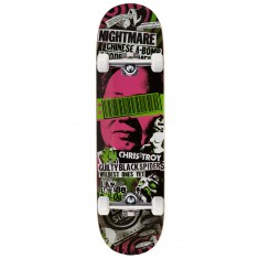 Black Label Christ Troy Bail Out Skateboard Complete - 8.50""