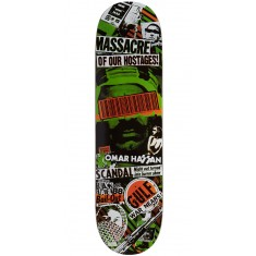 Black Label Omar Hassan Bail Out Skateboard Deck - 8.38""