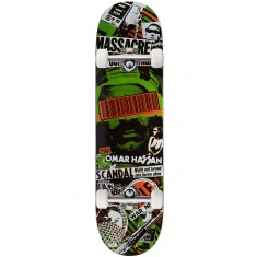 """Black Label Omar Hassan Bail Out Skateboard Complete - 8.38"""""""