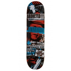Black Label Auby Taylor Bail Out Skateboard Deck - 8.25""