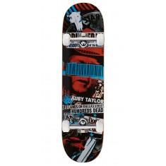 """Black Label Auby Taylor Bail Out Skateboard Complete - 8.25"""""""