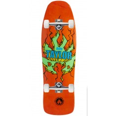 "Black Label Auby Taylor Breakout Skateboard Complete - 9.50"" - Orange"