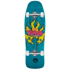 "Black Label Auby Taylor Breakout Skateboard Complete - 9.50"" - Turquoise"