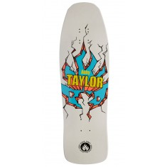 "Black Label Auby Taylor Breakout Skateboard Deck - 9.50"" - White"