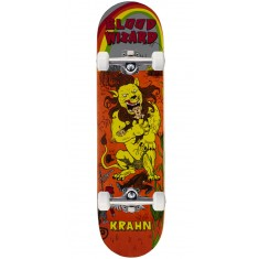Blood Wizard Lion Ben Krahn Skateboard Complete - 8.125""