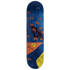 "Less Than Local Jupe Flowers Skateboard Deck - 8.00"" - Purple Stain"
