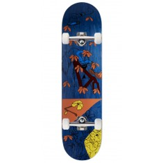 """Less Than Local Jupe Flowers Skateboard Complete - 8.00"""" - Purple Stain"""