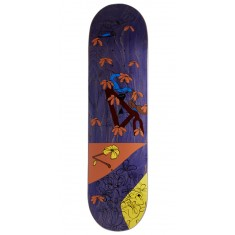 "Less Than Local Jupe Flowers Skateboard Deck - 8.25"" - Purple Stain"