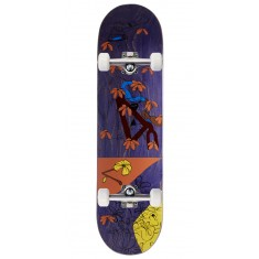 "Less Than Local Jupe Flowers Skateboard Complete - 8.25"" - Purple Stain"