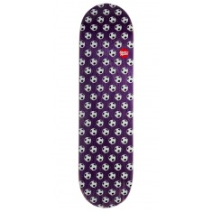 "Skate Mental Soccer Skateboard Deck - 8.25"" - Purple Stain"